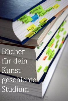 Gombrich, Poeschel, Binding, Koepf? Und was bitte ist ein LCI? ... Hier erfährst du, welche Bücher du im Studium brauchst!