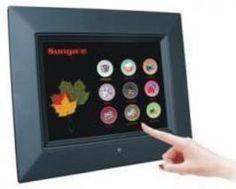 Sungale Cyberus WiFi Touch Screen Digital Photo Frame x 8
