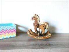 Kids room Décor nursery Décor horse toy decoration rocking horse Décor. by Ankleknits on Etsy