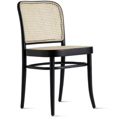 Hoffmann Side Chair Design Within Reach ($305) ❤ liked on Polyvore featuring home, furniture, chairs, bentwood chairs, bentwood furniture, design within reach chairs, design within reach and design within reach furniture