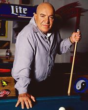 Telly Savalas at the billiard table. www.designerbilliards.co.uk