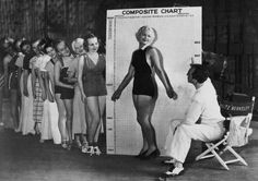 Busby Berkeley and some of his chorus girls - c. 1930s