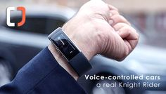 "Voice-Controlled Cars – a Real Knight Rider.  Like KITT in ""Knight Rider,"" Volvo owners can use a Microsoft Band 2 to have their cars perform tasks, such as locking the doors, setting the heater to a certain temperature, programming the navigation or sounding the horn. This technology has been available since spring 2016. Have you already heard about it?"