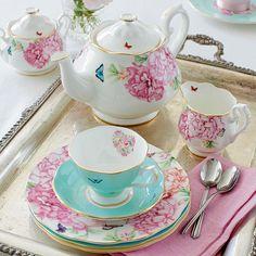 Blessings 3-Piece Tea & Cake Set by Miranda Kerr for Royal Albert | Zanui
