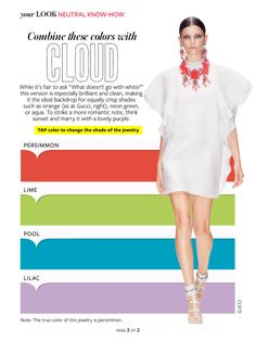 Instyle: cloud white