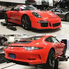 The first known Lava Orange 911 R for North America has landed at Porsche Exchange near Chicago, Illinois! No info on car number. Lava Orange is one of the three Special Colors (sonderfarbe) that were available in restricted quantities for the R. 📸: @porscheexchange | Follow @club911r for the latest on the newest Porsche 911 R's. Club911R is the first and most complete registry of Porsche 911 R's. If you have any info on a 911 R, please contact via DM. Online registry to launch soon.