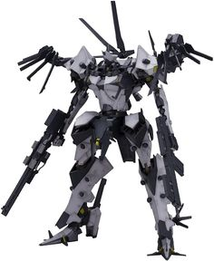 The latest Armored Core fine scale model kit is a powerful medium to long-range combat unit first seen in Armored Core For Answer.