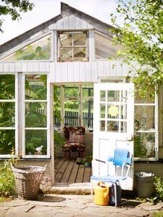 Om ett somrigt hus på Österlen och Pippi Långstrumps inredningsstil.