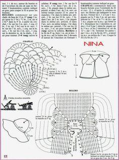 Barbie Crochet Miniaturas Artesanato e Coisas Mais de Tudo Um Pouco e Muito Mais: Roupa de Crochê Para Barbie Com Gráfico - 1000 Mailles Robes de Poupée