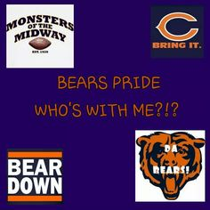Love my Bears!