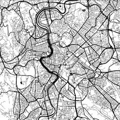 Download from $0.99, Rome, Italy, Monochrome Map Artprint, Vector Outline Version, ready for color change, Separated On White...,  #administrative #area #atlas #border #capital #cartography #city #detail #downtown #geography #graphic #harbor #highways #illustration #image #interstate #italy #macro #map #monochrome #neighborhoods #old #outline #roads #rome #sign #states #streets #symbol #tourism #travel #trip #united #vacation #vector #view #visit #white