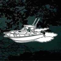 Shark Skeleton Decal Shark Window And Car Window Stickers - Boat stickers and decals