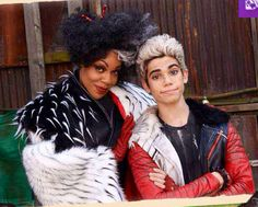 "Disney ""Descendants"" - Carlos and mom, Cruella de Vil"