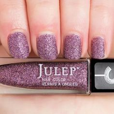 Julep QUEEN ANNE Nail Color Treat Polish It Girl Lilac Confetti Microglitter #Julep
