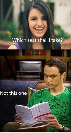 they both would eventually make me strangle something...sheldon would take longer to annoy me though...