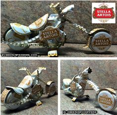 Hey, I found this really awesome Etsy listing at https://www.etsy.com/listing/203996048/stella-artois-beer-bottle-cap-chopper