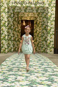 I Pinco Pallino spring 2015, white dress with flowers embroidery. #ipincopallino #SS15 #spring #summer #springsummer2015 #childrens #kids #childrenswear #kidswear #kidsfashion #girls #boys #pittibimbo79