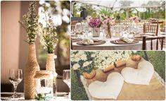 Saiba como decorar um sítio para seu casamento