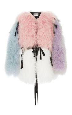 Sandy Liang - Luna Convertible Fur Coat