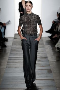 Wes Gordon Fall 2015 Ready-to-Wear Fashion Show - Ronja Furrer