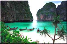 Thailand - my favorite country ever!  And Phuket and the Phi Phi Islands are so amazingly gorgeous and magical!