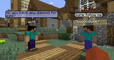 Minecraft Chat Bubbles
