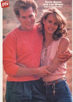 "Kevin Bacon and Lori Singer in ""Footloose"""