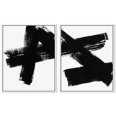 Ilana Greenberg Connections Paintings (3 420 SEK) ❤ liked on Polyvore featuring home, home decor, wall art, art, fillers, black white wall art, black and white home decor, black and white paintings and black and white wall art