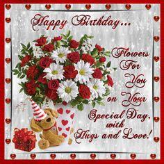 Happy Birthday flowers animated roses gif bouquet birthday happy birthday birthday greeting birthday wishes birthday quote birthday friend Happy Birthday Greetings Friends, Happy Birthday Wishes Quotes, Happy Birthday Celebration, Happy Birthday Flower, Birthday Blessings, Birthday Wishes Cards, Happy Birthday Sister, Happy Birthday Images, Birthday Quotes