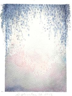 Etherial Art  Pastel Painting  Abstract Watercolour  by KiteFlier, $32.00