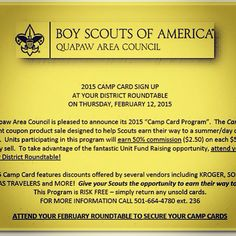 Camp Card Time!