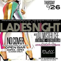 Ladies Night @ Play Lounge Thursday June 26, 2014 « Bomb Parties – Club Events and Parties – NYC Nightlife Promotions