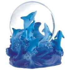 Snow Globe Dolphin Collection Desk Figurine New