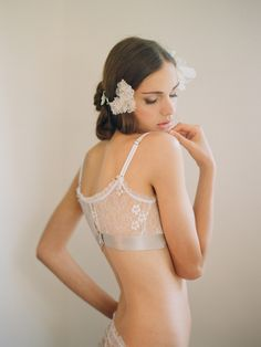 heirloom lingerie boudoir photography by Elizabeth Messina, lovely lace