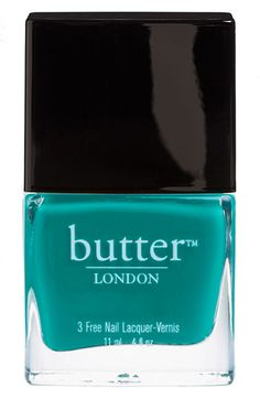 So excited for spring! butter LONDON nail color in Slapper