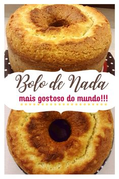 Portuguese Desserts, Portuguese Recipes, Portuguese Rolls Recipe, Brazilian Dishes, Good Food, Yummy Food, Coffee Cake, Chocolate, Food And Drink