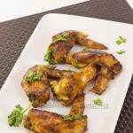 Stewed Chicken Wings with Chinese Black Mushrooms from Christine's Recipes