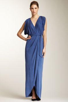 azul Vestido Belleza Jersey moda de Cupro Vestido de Mujeres vestir sudor Vestidos de S606Bgrwq