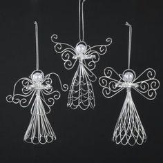 handmade wire angel halos - Google Search