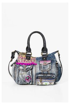 Bag London Mini Exotic Jeans Discover the spring-summer 2017 collection!