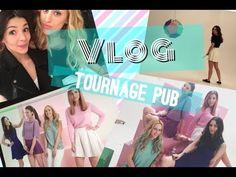 VLOG - Tournage d'une PUB Vivelle Dop par Little J Beauty