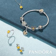 Celebrate with citrine stones! Whether a ring, earrings, charm, or pendant, PANDORA Jewelry has the perfect way to say November is special to you!
