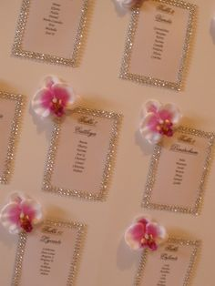 plan de table strass et orchidées Wedding Reception Seating, Wedding Reception Centerpieces, Seating Chart Wedding, Wedding Decorations, Shabby Chic Wedding Invitations, Wedding Stationary, Wedding Place Cards, Planer, Etsy