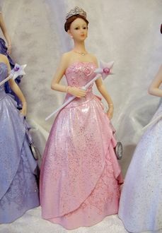 Quinceanera Cake Topper - Available in Many Colors - Quinceañera Gifts & Invitations - Quinceañera Jewelry - Quinceañera Accessories