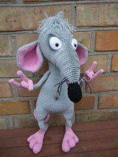 Amigurumi Lab Rat : Plus de 1000 idees ? propos de Crochet et tricot sur ...