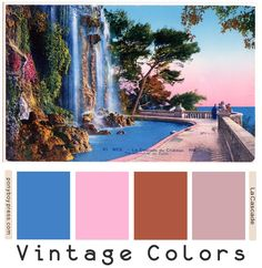 Ponyboy Press - zine maker, design lover, dedicated homebody: Search results for color palette Vintage Color Schemes, Vintage Colour Palette, Fall Color Palette, Vintage Colors, Colour Schemes, Color Combos, Colour Palettes, Hex Color Codes, Hex Codes