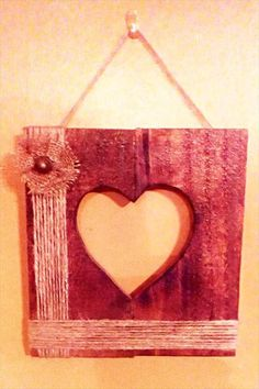 pallet love wall sign