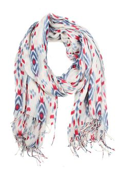 Print Wrap Scarf - the perfect travel accessory!