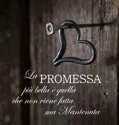 La promessa....