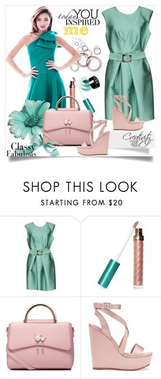 """""""Classy fabulous"""" by creativity30 ❤ liked on Polyvore featuring Tara Jarmon, Forever 21, WithChic, Miss Selfridge and NYX"""